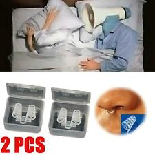 2X Stop Snoring Cones Breathe Easy Congestion Aid Anti Snore Nasal Dilator QL