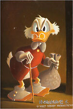 Oil Painting HD Print Wall Decor Art on Canvas,Donald Duck-89 (Unframed) 1PCS