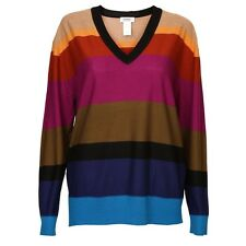 Sonia By Sonia Rykiel Colour Block Wool Jumper