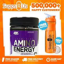 OPTIMUM NUTRITION AMINO ENERGY 65 SERVES BCAAS BRANCH CHAIN AMINO