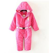 NEW Disney Baby Girl's Hooded Snowsuit Size 3 - 6 6 - 9 months