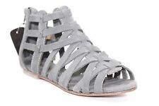 CATERPILLAR WEAVEMENT RAW COLLECTION GREY SUEDE GLADIATOR 7-10