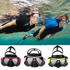 Good Underwater Goggles Anti Fog Diving Mask Snorkel Swimming Goggles QT