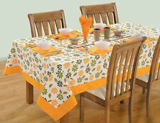 New Party Wedding Tablecloth Catering Table Cover Cloth 100% Cotton Tableware
