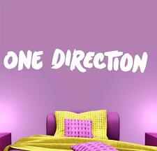 One Direction version 2 - Wall Decal Art Sticker lounge living room bedroom