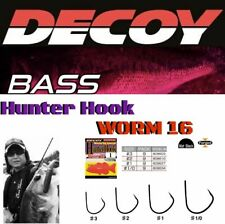 DECOY WACKY RIG SPECIAL HUNTER HOOK WORM 16