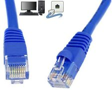 Cat5e 25CM 2 Meter 3 Metre 5m 10M 25m Ethernet CAT 5e RJ45 Network LAN BLUE LEAD