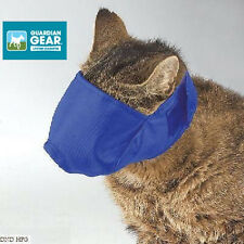 CAT GROOMING TRAINING Quick-Fit MUZZLE CATS BLUE Cats