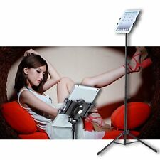 "Multi-direction Floor Mount Stand Tripod Holder For 7-10"" iPAD 2 3 4 Air Hot LN"