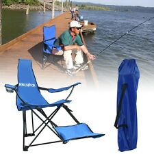 Outdoor Portable Folding Camping Beach Camp Chair Seat Stainless Steel Frame Hot