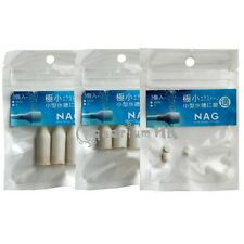3pcs Aquarium NAG Aqua Smallest Air Stone Diffuser for Airline Skimmer Air Pump