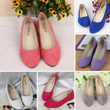 Women's Fashion Soft Ladies Ballerina Ballet Pumps Slip On Casual Flats Shoes