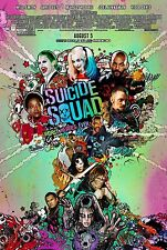 Suicide Squad DC Comics Original Movie Poster DS Final Style - Affleck Smith