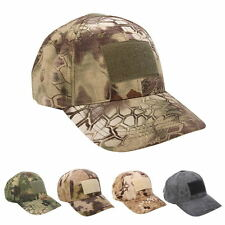 Rattlesnake Baseball Cap Union Velcro Patch Army Hat Multicam MTP Camo Outdoor