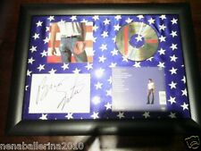 BRUCE SPRINGSTEEN - BORN IN THE USA Framed CD Album W/ Facsimile Autograph