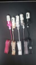 lot;10/20;5 Ft Fabric USB Data Colorful Cable for AppleI iPhone5/6/6s+Car Charge