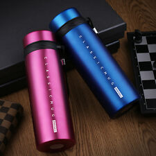 650ml Stainless Steel Vacuum Flask Water Bottle Thermos Coffee Travel Mug Cup