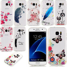 Transparent Slim TPU Soft Rubber Back Case Cover Clear Skin For Samsung Galaxy