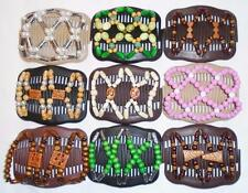 Double Magic Hair Combs, African Style Butterfly Clips, MultiColors, S27