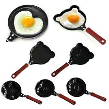 Mini Heart Shape Egg Pancake Non-Stick Fry Frying Cook Kitchen Breakfast Pan gt