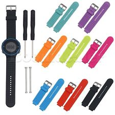 Silicone Watch Band w/Tool For Garmin Forerunner 220 230 235 630 620 735 Watch