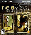 The Ico & Shadow of the Colossus Collection (Sony PlayStation 3) PS3 COMPLETE