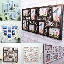 Collage Picture Frame Wall Hanging Art Home Decor Family Photo Display Gift