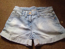 Girls denim shorts from Next age 10 years