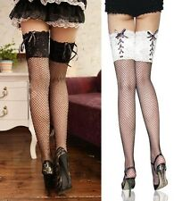 Super Sexy Lace Top Stay Up Fish Net Thigh-Highs Tights Stockings Pantyhose-2078