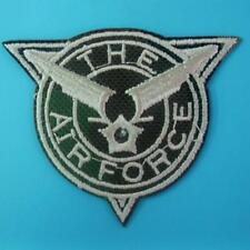 Army Military Police Wing Airforce Star Iron on Embroidered Patch Badge Biker