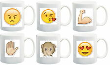 Personalised Emoji Mug, Emoji Mugs, Emoji Gifts, Personalised Emoji Gift Mugs