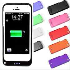 2200mAh Portable Rechargeable Backup Charging Case Power Bank For iPhone5 5S SE