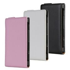 1x Genuine leather Flip Case Cover Skin Open up for NOKIA Lumia 900 NEW