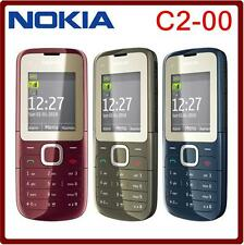 NOKIA C2-00 C2 2G Dual SIM Phone FM Bluetooth MP3 MP4 Player GSM 900 / 1800