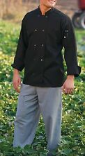 Uncommon Threads 0402-01,0402-25 Unisex 10 Buttons Chef Coat  Choose Size NWT