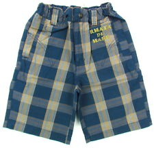 ARMATA DI MARE Baby bermuda shorts check (navy) new with defects