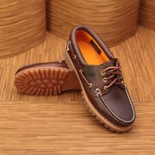 NEW Timberland $110 Women's Heritage Noreen 3 Eye Handsewn Brown Shoes #51304