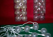 CHRISTMAS BATTERY OPERATED LIGHT UP BAUBLES  - Assorted Colour Combinations