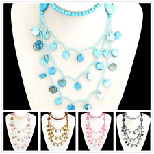 Special Offer, Multicolour Coloured Natural Shell Pearl Necklace X1123