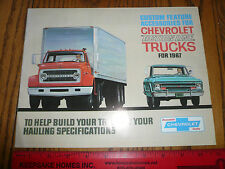 1967 Chevrolet Truck Custom Feature Accessories for Chevy Action Line Brochure