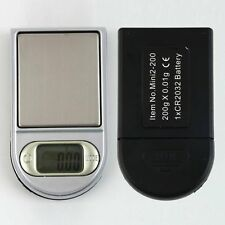 Mini Pocket LCD Digital Lighter Style 0.01~200g Gram Pocket Jewellery Scale MC