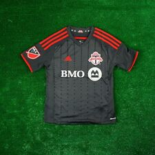 Toronto FC ADIDAS MLS Black Short Sleeve On-Field  Jersey Youth
