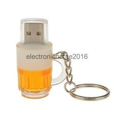 Beer Mug Memory Stick 3D Beer Cup Light Weight USB Flash Drive 4GB/8GB/16GB/32GB