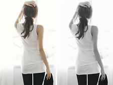 Sleeveless Tank Tops Cami Vest T-Shirt Womens Camisole Sexy  Bottoming