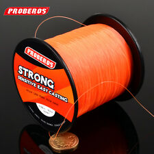 1PC 500M Fishing Line 2 Color Sink Fishing Lines 28-40LB Nylon Fishing Wire Line