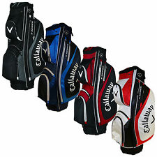 CALLAWAY MENS X-SERIES CART BAG - NEW GOLF TROLLEY BAG 14 WAY DIVIDER TOP 2017
