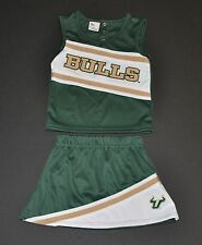 NWOT South Florida Bulls Infant Cheerleader Outfit (2T) Jersey Hat Shirt Polo