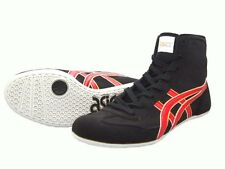 ASICS Wrestling Boxing Shoes EX-EO TWR900 Black x Red From Japan Fast Shipping