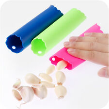 Twist Remover Tube Magic Silicone Kitchen Garlic Clove Easy Peeler Peel Stripper