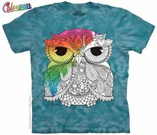 Owl 1 Colorwear T-Shirt from The Mountain - S - 5X